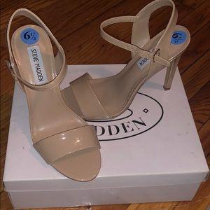 Steve Madden nude heels. Never worn brand new